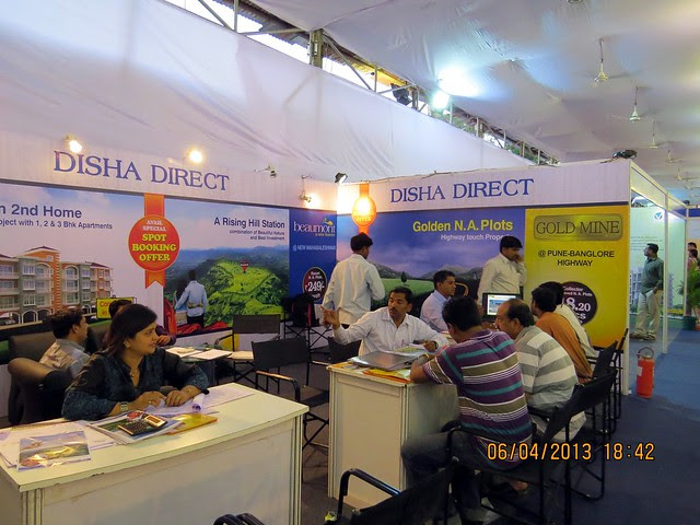 Disha Direct Thane - Maharashtra Times Pune Property Show April 2013