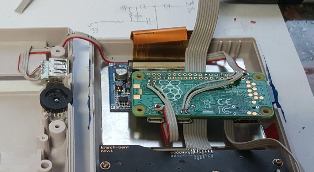 Game Boy RPI Zero