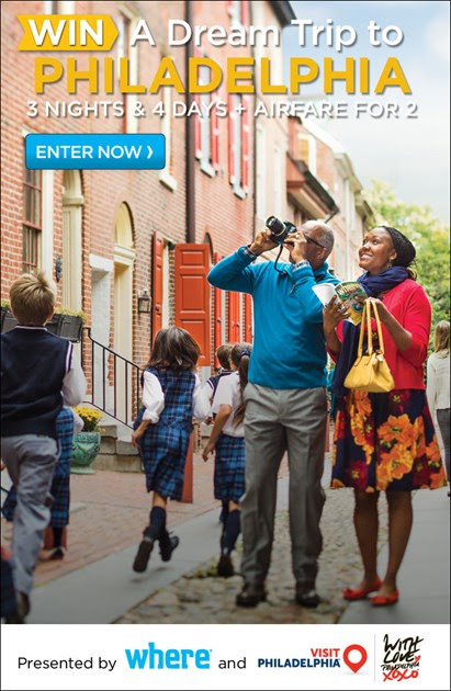 Win a Dream Trip for Two to Philadelphia!