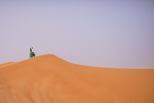 Dubai Desert Destination Pre Wedding Photography UAE