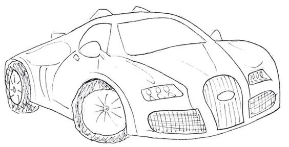 Bugatti Veyron Super Car Coloring Page Auto Electrical Wiring Diagram