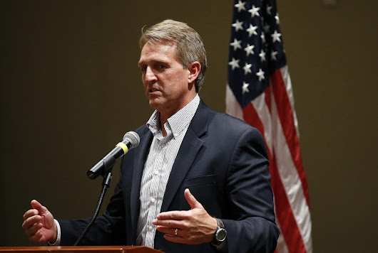Jeff Flake and the Fatal Glass of Bullshit