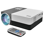 Home 1080p HD Digital Multimedia Projector with up to 120 in. Display White SO114323