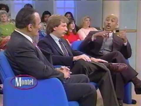 Mike Levine and Gary Webb on the Montel Williams show