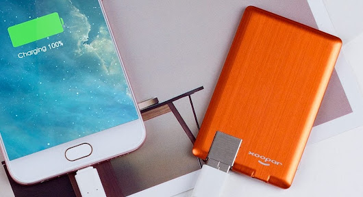 Xoopar PowerCard offers slim powerbank for quick on-the-go charging