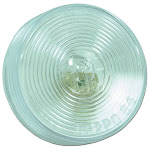 """Grote 45811 Auxiliary Lighting, 2.5"""", Clear, Utility Lamp"""