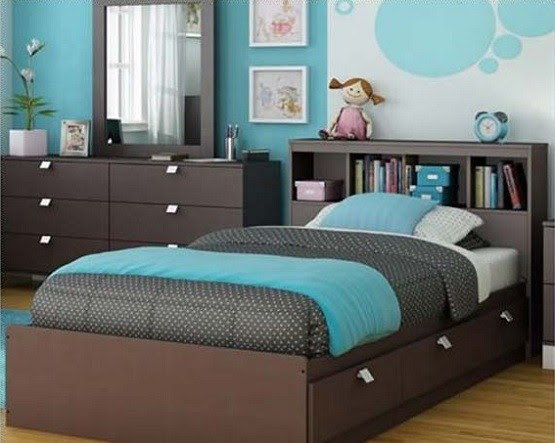 Blue and Brown Bedroom Ideas Collection | Home Interiors