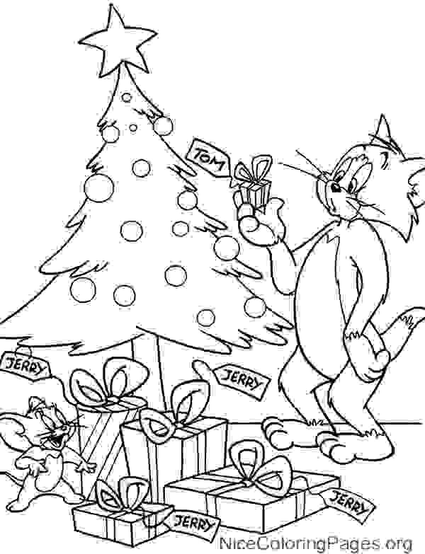 Tom And Jerry Christmas Coloring Pages at GetColorings.com ...