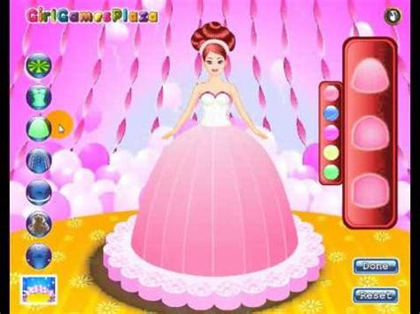 Dress Up Games Decorate Cooking Barbie Cake Decoration