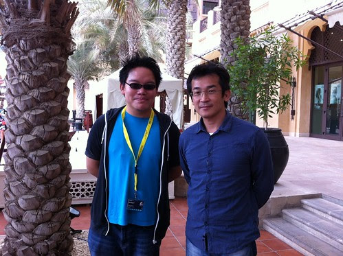 With SEEDIQ BAAL and CAPE NO. 7 director Wei Te-Sheng