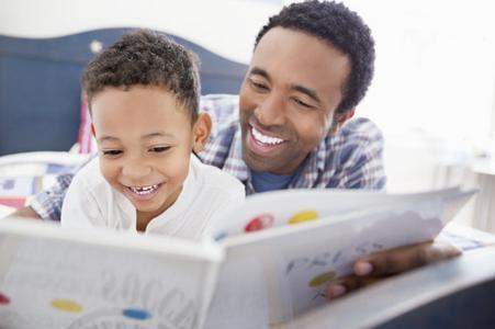 Đọc sách là giây phút ta và đứa trẻ dành riêng thời gian cho nhau