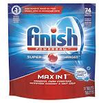 Reckitt Benckiser Professional 93269PK Finsh Powerball Max Dishwasher Tabs