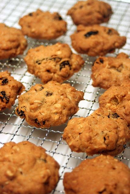 David Lebovitz's Oatmeal Raisin Cookies