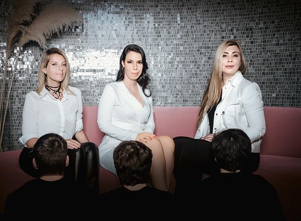 Vanessa Cersósimo, Isa Gil e Hana Mancini são usuárias do site Meu patrocínio (Foto: Alex Batista)
