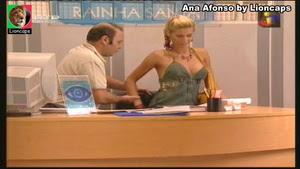 Ana Afonso sensual na novela O Teu Olhar