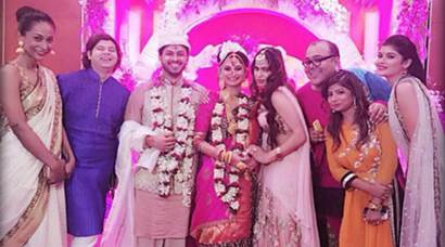 PHOTOS: Dimpy Ganguly's wedding in pics | The Indian Express