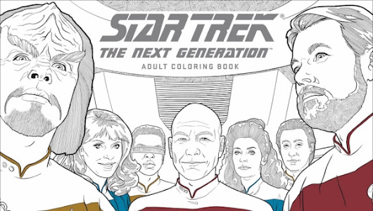 Fanbase Press - C2E2 Exclusive: Dark Horse Comics Announces New 'Star Trek' Second Volume Adult Coloring Books