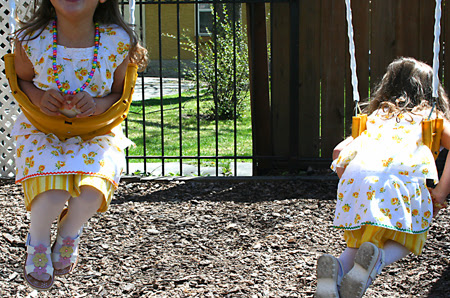 twirly skirts & swings
