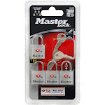 Master Lock Padlocks - 4 count
