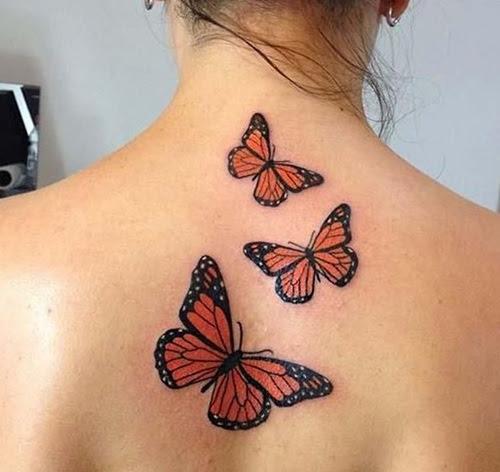 Ideas En Imágenes De Tatuajes De Mariposas Para Mujeres Descargar