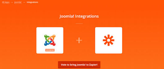 Get Out And Vote Joomla To Zapier