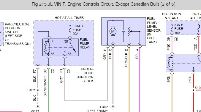 Wiring Diagram  31 2002 Chevy Silverado Fuel Line Diagram