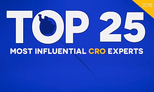 The Top 25 Most Influential Conversion Rate Optimization Experts in 2015 | PPC Hero®