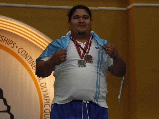 Christian López (GUA) - Haltera de 29 años