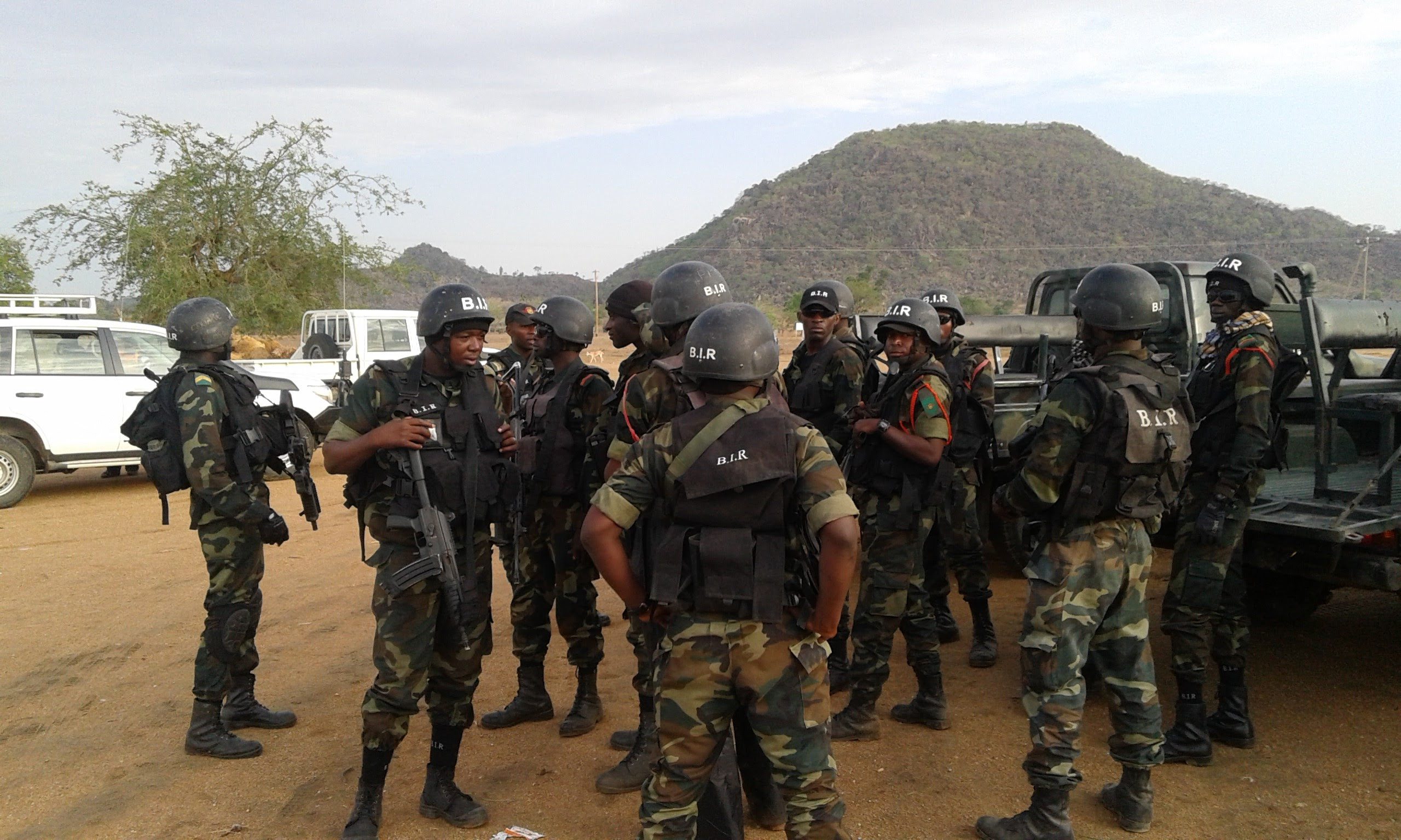 Image result for images of Cameroon military in the North West Regions
