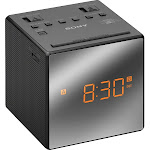 Sony - AM/FM Dual-Alarm Clock Radio - Black