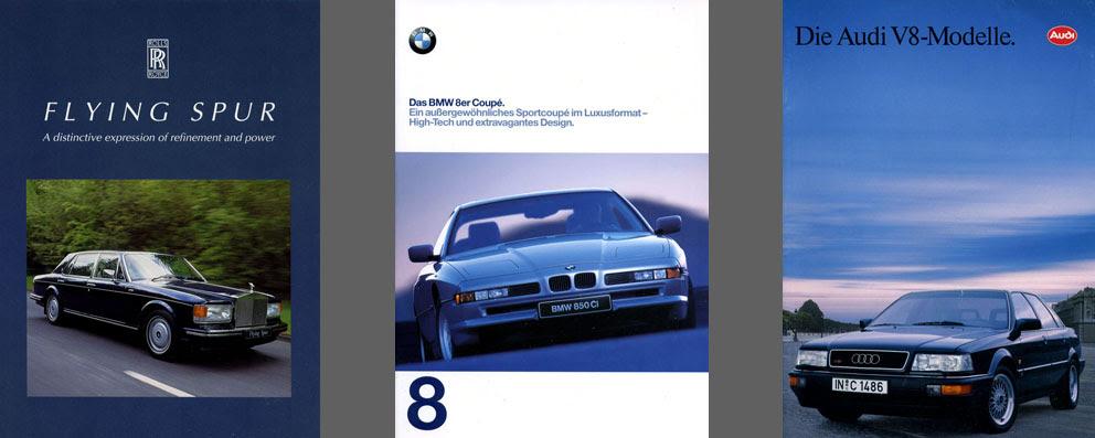 1990s Automobile Brochures