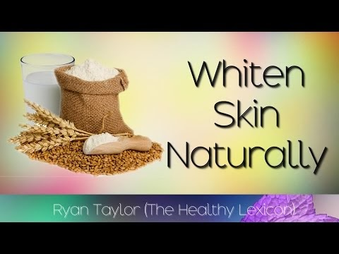 Whiten Skin Naturally