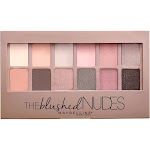 Maybelline The Blushed Nudes Eyeshadow Palette, 0.34 oz.