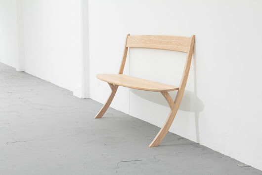 A Bench That Challenges Gravity - Design Milk