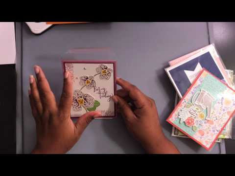 Video: 20+ Card Ideas from the 2017-2018 Stampin Up Catalog