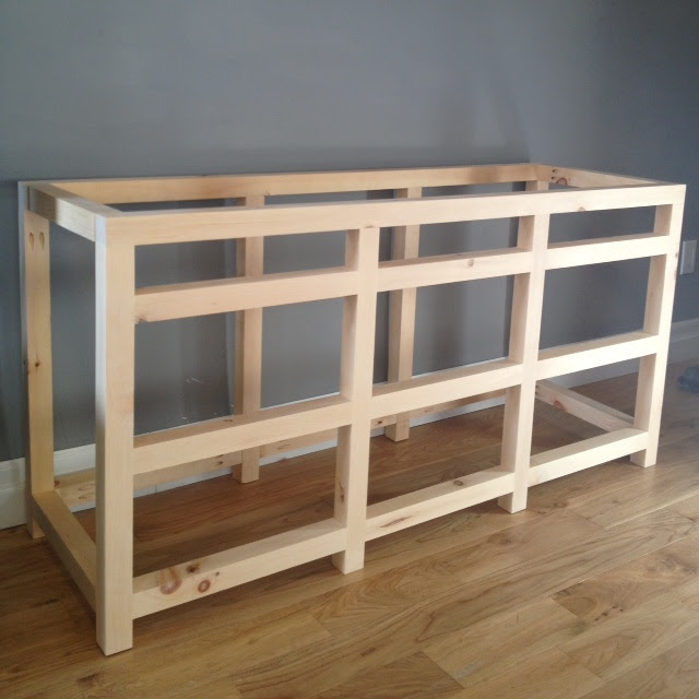 Making A Cabinet Frame, Small Reloading Bench Plans