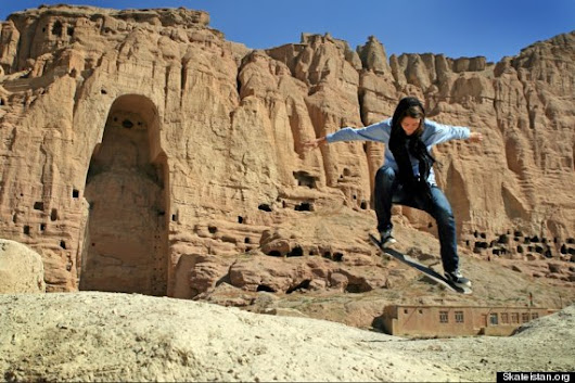 In the Midst of a Warzone there's an Afghani Skateboarding School for Girls