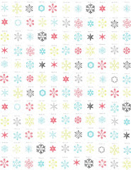 STANDARD size JPG snowflake snow crystals LARGE SCALE distress paper 350 dpi
