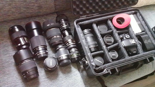 My Gear and lenses