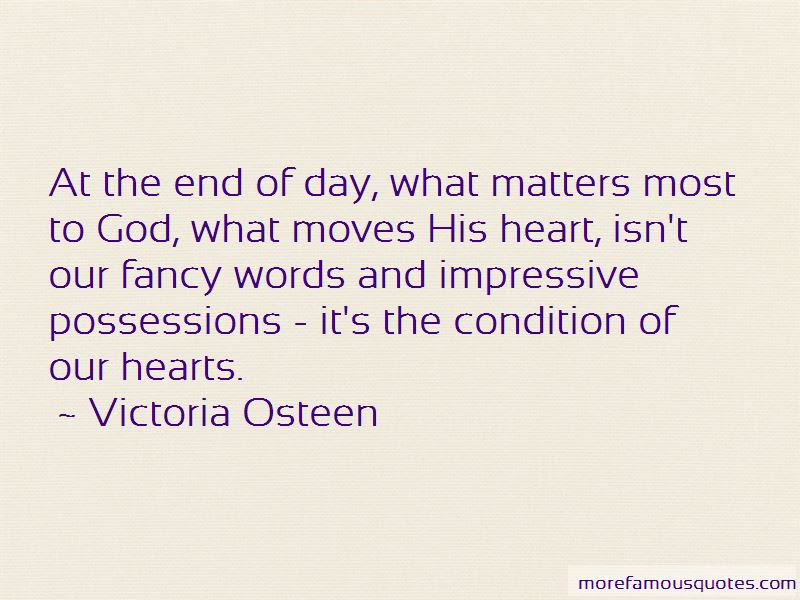 Quotes About What Matters At The End Of The Day Top 19 What Matters
