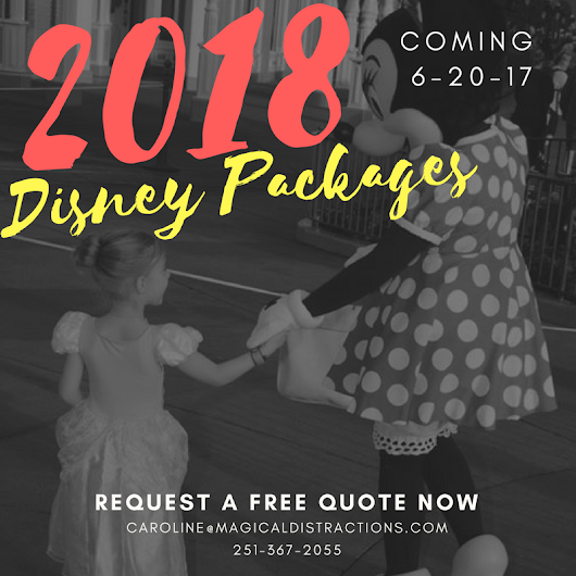 2018 Disney World Packages Coming Next Week - Magical DIStractions