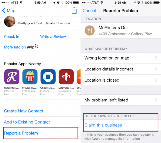 iOS 8.3 Maps Update Allows Business Owners to Claim POI Listings