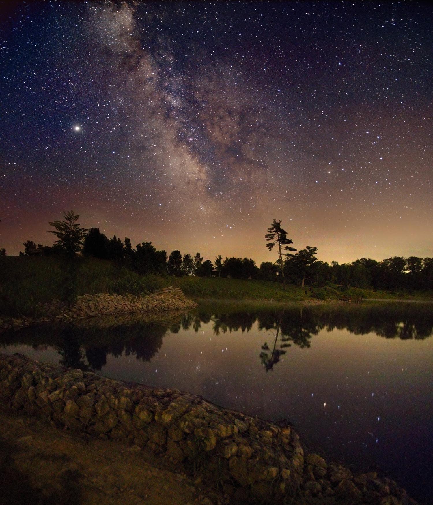 ありえないぐらいきれいに見える 天の川 の写真をnasaが公開 Gigazine