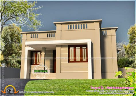 small house exterior kerala home design floor plans
