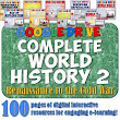 Complete World History 2 Google Drive Interactive Notebook Bundle