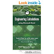 Amazon.com: Engineering Calculations using Microsoft Excel: Learn how to write your own customized calculations in minutes eBook: Primoz Kvaternik, Farzaneh Farshad: Kindle Store
