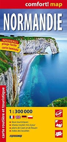 Download Normand U00eda  Mapa De Carreteras Plastificado