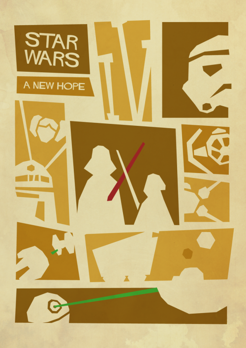 Star Wars: A New Hope Created by Sindre Hansen