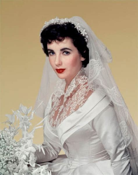 Elizabeth Taylor's First Wedding Gown Sells for $188,175