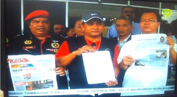 Laporan polis gabungan PVTM dan 9 NGO